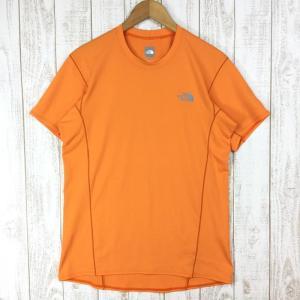 ノースフェイス クイックドライ ショートスリーブ Tシャツ NORTH FACE NT61362 Asian MEN's XL オレンジ系|2ndgear-outdoor