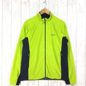 モンベル シャミース ライニングジャケット フリース MONTBELL 1104987 Asian MEN's L グリーン系|2ndgear-outdoor