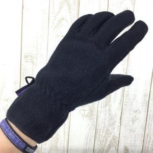 【MEN's S】パタゴニア シンチラ グローブ Synchilla Gloves PATAGONIA 22400 BLK BLACK ブラック系|2ndgear-outdoor