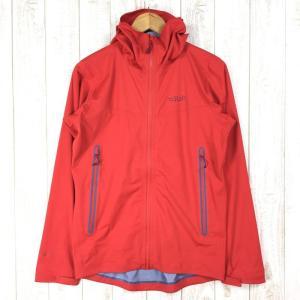 【MEN's S】ラブ キネティック プラス ジャケット Kinetic Plus Jacket RAB QFT-85 レッド系|2ndgear-outdoor