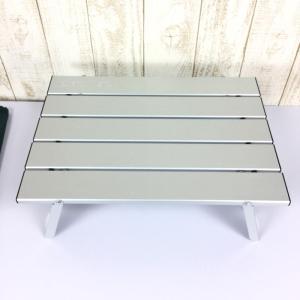 キャプテンスタッグ アルミロールテーブル コンパクト One アルミ シルバー系|2ndgear-outdoor