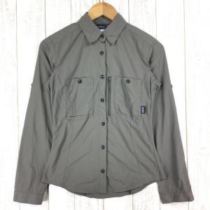 パタゴニア ロングスリーブ サンテック シャツ Long-Sleeved Sun Tech Shirt PATAGONIA 53210 Interna 2ndgear-outdoor