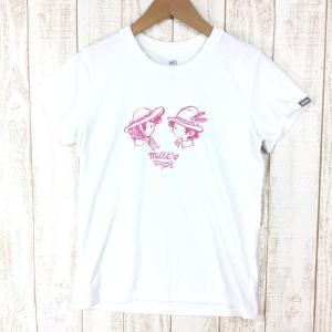 【WOMEN's XS】ミレー ウィメンズ ユーゴ ボーイミーツガール Tシャツ ショートスリーブ MILLET MIV01703 ホワイト系 2ndgear-outdoor
