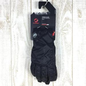 【M】マムート サーモ グローブ Thermo Glove プリマロフト MAMMUT 1090-05870 ブラック系|2ndgear-outdoor