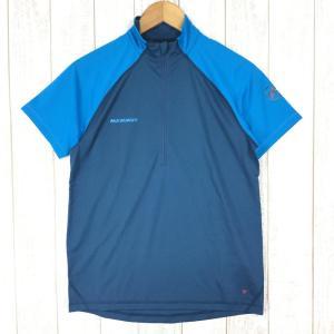 マムート アタカゾ ライト ジップ Tシャツ Atacazo Light Zip T-Shirt MAMMUT 1041-07910 MEN's S|2ndgear-outdoor