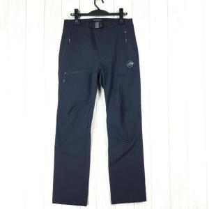 マムート ヤドキン ソフトシェル パンツ Yadkin SO Pants ヤッキン MAMMUT 1021-00160 MEN's S ブラック系|2ndgear-outdoor