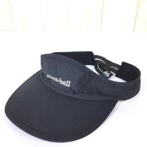 モンベル フィールド バイザー サンバイザー キャップ MONTBELL 1108418 UNISEX One ブラック系|2ndgear-outdoor