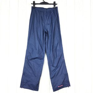 コロンビア グラスバレー レインスーツ ※パンツのみ COLUMBIA PL0011 WOMEN's M ネイビー系 2ndgear-outdoor