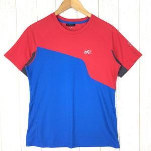 【MEN's M】ミレー ポーラテックパワードライ ショートスリーブ クルーネック Tシャツ MILLET レッド系 2ndgear-outdoor