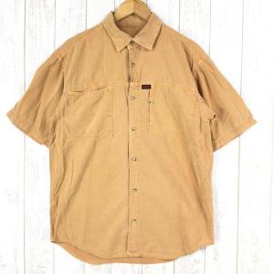 グラミチ コットン ショートスリーブシャツ GRAMICCI International MEN's S オレンジ系|2ndgear-outdoor