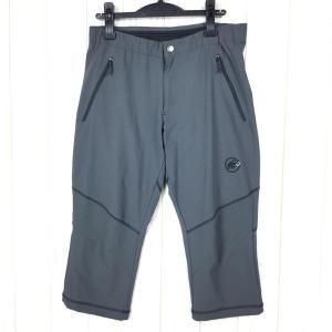 【MEN's 50】マムート ポルドイ 3/4 パンツ Pordoi 3/4 Pants MAMMUT 1020-09940 チャコール系|2ndgear-outdoor