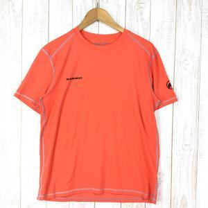 【MEN's M】マムート スプライド Tシャツ Splide T-Shirt MAMMUT 1041-06960 オレンジ系|2ndgear-outdoor