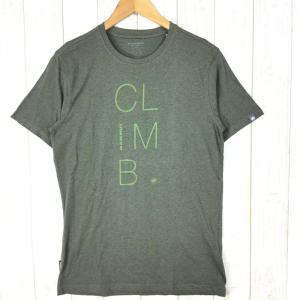 【MEN's M】マムート マッソネ Tシャツ Massone T-Shirt MAMMUT 1041-07091 グリーン系|2ndgear-outdoor