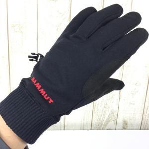 【UNISEX 8】マムート アストロ グローブ Astro Glove ゴアウィンドストッパー MAMMUT 1090-04720 ブラック系|2ndgear-outdoor