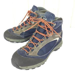 モンベル タイオガ ブーツ ゴアテックス MONTBELL 1129470 MEN's US8.5 UK7.5 EUR42 26.5cm ブルー系|2ndgear-outdoor
