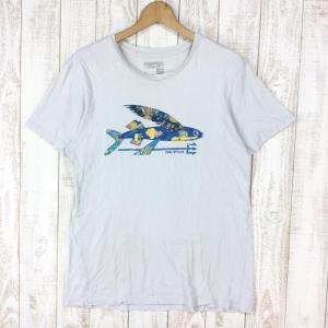 パタゴニア ハレイワ限定 トビウオ Tシャツ アメリカ製 入手困難 PATAGONIA 38857 International MEN's S TGY|2ndgear-outdoor