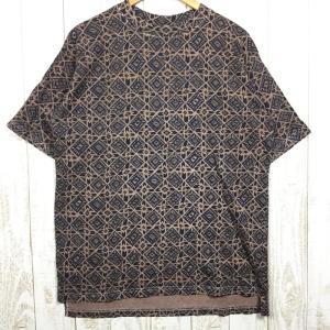 グラミチ 90s ショートスリーブ プリント Tシャツ アメリカ製 GRAMICCI International MEN's M ブラウン系|2ndgear-outdoor
