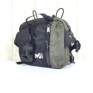 ミレー フロントパック チェストパック ヒップパック ウエストバッグ MILLET MO8862 ブラウン系 2ndgear-outdoor