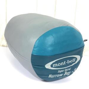 モンベル スーパー スパイラル バロウバッグ #3 化繊 シュラフ 寝袋 0度 MONTBELL 1121219 One ブルー系|2ndgear-outdoor