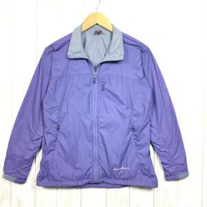 【WOMEN's M】モンベル ライトシェル アウター ジャケット MONTBELL 1106423 パープル系|2ndgear-outdoor