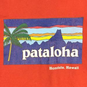 【MEN's XL】パタゴニア パタロハ Tシャツ ホノルル限定 入手困難 PATAGONIA レッド系 2ndgear-outdoor