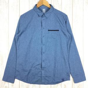 【MEN's M】ミレー アルピシャツ ロングスリーブ ARPI SHIRT LS MILLET MIV7700J ブルー系 2ndgear-outdoor