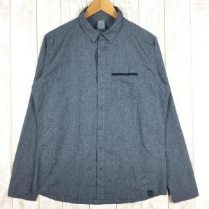 【MEN's M】ミレー アルピシャツ ロングスリーブ ARPI SHIRT LS MILLET MIV7700J グレー系 2ndgear-outdoor