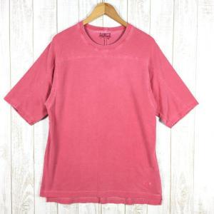 グラミチ ショートスリーブ クライマー カノコ Tシャツ GRAMICCI International MEN's M ピンク系|2ndgear-outdoor