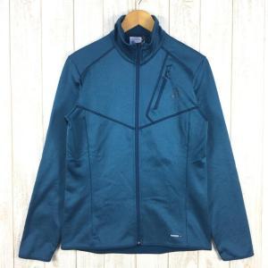 【MEN's M】サロモン ディスカバリー フルジップ DISCOVERY FZ フリース ジャケット SALOMON L40094000 ブルー系|2ndgear-outdoor