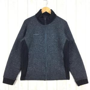 【MEN's M】マムート アイスランド ジャケット ICELAND JACKET ウール × フリース MAMMUT 1032074 カーボン チャ|2ndgear-outdoor
