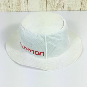 UNISEX L/XL サロモン エスラボ スピード ボブ S/LAB SPEED BOB ハット SALOMON L39325400 ホワイト系|2ndgear-outdoor