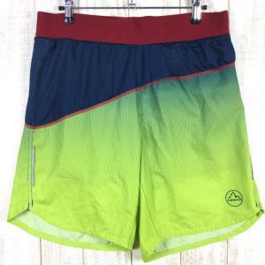 【MEN's S】スポルティバ メダル ショーツ MEDAL SHORT ランニングショーツ SPORTIVA J98 グリーン系|2ndgear-outdoor