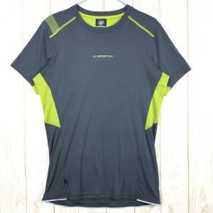 【MEN's S】スポルティバ ブリッツ Tシャツ BLITZ T-SHIRT SPORTIVA J72 グレー系|2ndgear-outdoor