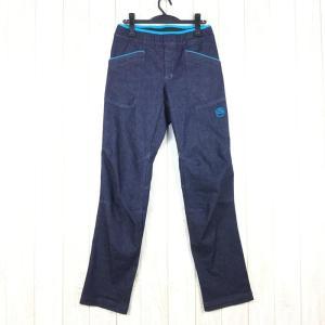 【MEN's XS】スポルティバ ブレイブ ジーンズ Brave Jeans クライミングパンツ SPORTIVA H98 ネイビー系|2ndgear-outdoor