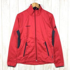 マムート スノードン ジャケット Snowdon Jacket Softech ソフトシェル MAMMUT 1010-08720 MEN's S レッ|2ndgear-outdoor