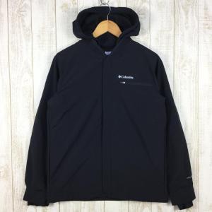 【MEN's S】コロンビア テック トレイル シャツジャケット 3in1 インターチェンジ スウェットパーカー COLUMBIA EE0215 ブラ|2ndgear-outdoor