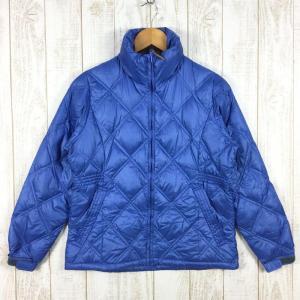 【WOMEN's S】フォックスファイヤー ダイヤモンドキルト ダウン ジャケット FOXFIRE 8113835 ブルー系|2ndgear-outdoor