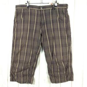 MENs 36 コロンビア モッターズ 3/4 パンツ クロップドパンツ COLUMBIA PM8668 ブラウン系|2ndgear-outdoor