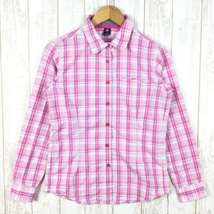 【WOMEN's M】モンベル WIC.ライト シングルポケット ロングスリーブシャツ MONTBELL 1104946 ピンク系|2ndgear-outdoor