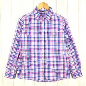 【WOMEN's M】モンベル WIC.ライト ロングスリーブシャツ MONTBELL 1114104 ブルー系|2ndgear-outdoor