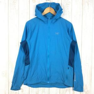 【MEN's M】アークテリクス インセンド フーディ Incendo Hoody ウィンドシェル ジャケット ARCTERYX 12077 ブルー系 2ndgear-outdoor
