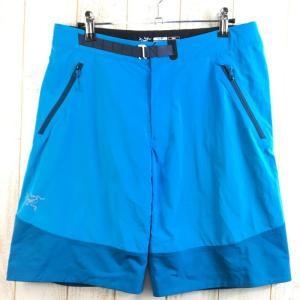 MENs S アークテリクス ガンマ SL ハイブリッド ショーツ Gamma SL Hybrid Shorts ARCTERYX 12159 ブルー 2ndgear-outdoor