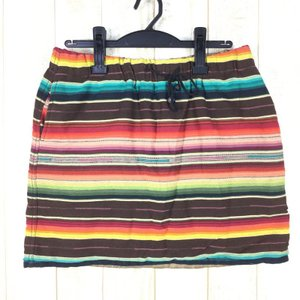 【WOMEN's M】ワイルドシングス リバーシブル プリマロフト セラペ スカート REVERSIBLE PRIMALOFT SERAPE SKIR|2ndgear-outdoor