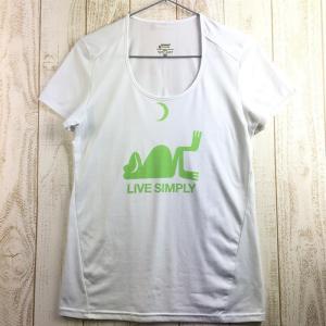 WOMENs M パタゴニア LIVE SIMPLY カエル キャプリーン Tシャツ PATAGONIA ホワイト系 2ndgear-outdoor