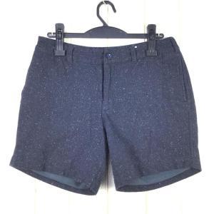 【WOMEN's L】ノースフェイス ウィメンズ ウール ショーツ W Wool Short NORTH FACE NBW91314 ブラック系|2ndgear-outdoor