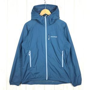 【MEN's M】モンベル ライトシェルパーカ MONTBELL 1106645 ブルー系|2ndgear-outdoor