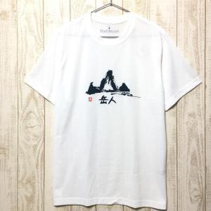 MENs L モンベル WIC.T 岳人 速乾 Tシャツ MONTBELL 1114489 ホワイト系|2ndgear-outdoor
