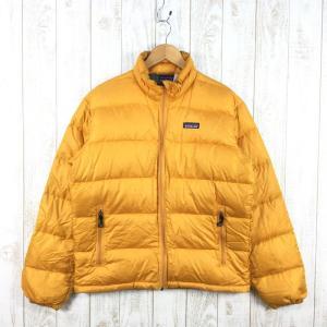 【MEN's S】パタゴニア ダウン ジャケット DOWN JACKET 生産終了モデル 入手困難 PATAGONIA 84600 オレンジ系 2ndgear-outdoor