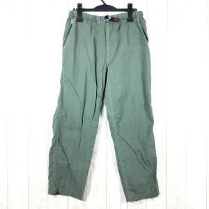 【WOMEN's M】グラミチ クイックドライ ナイロン クライミング パンツ アメリカ製 GRAMICCI グリーン系 2ndgear-outdoor