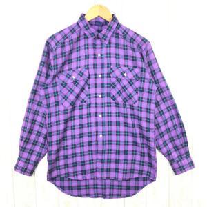 【MEN's M】モンベル ウィックロン ロングスリーブ シャツ MONTBELL パープル系|2ndgear-outdoor